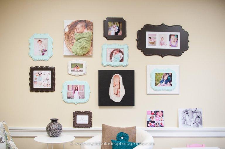 wall display portraits