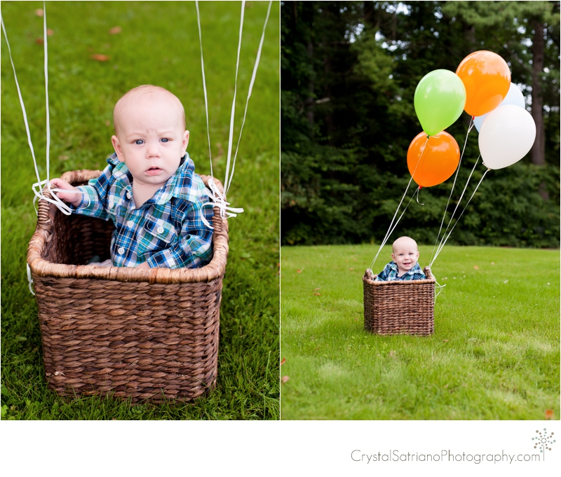 Scranton Children's Photographer 6 months Crystal Satriano