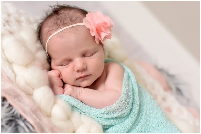 newborn girl session