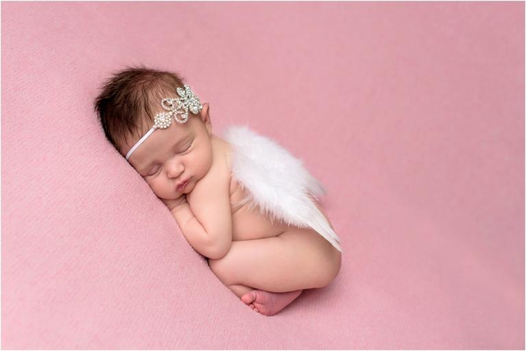 newborn girl angel