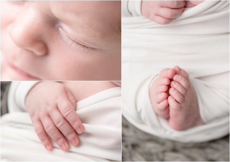 best NEPA newborn photographer newborn details photo by Crystal Satriano Photography