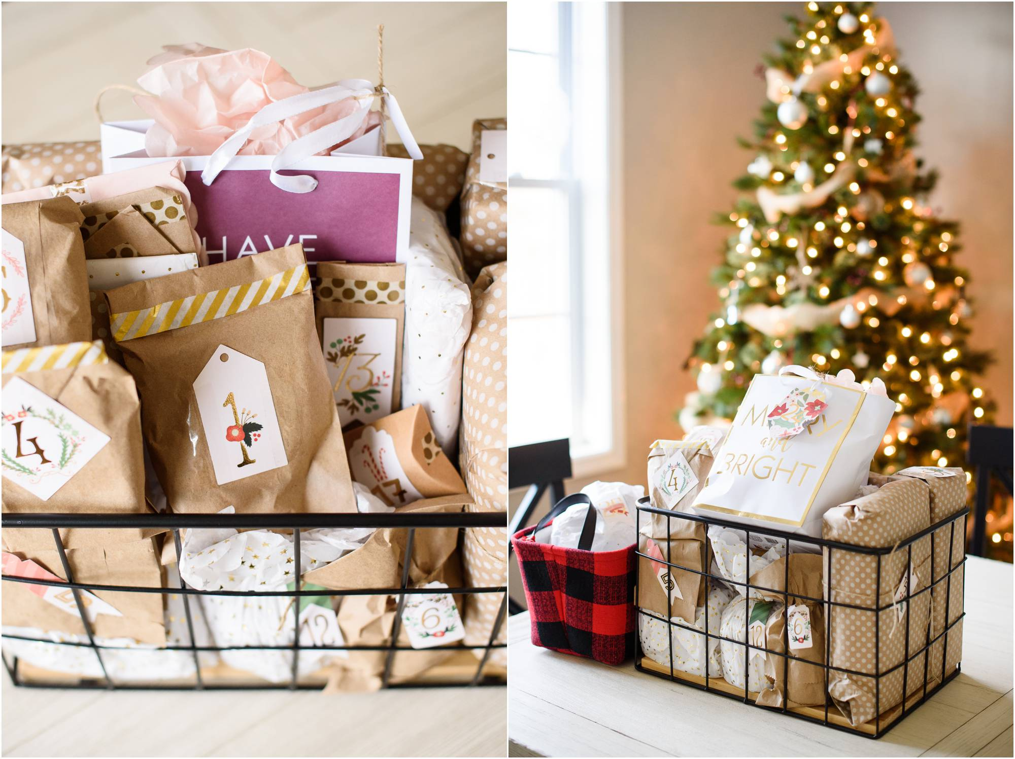 best christmas gift advent calendar of gifts - Crystal Satriano ...