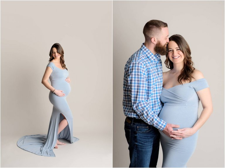 maternity session moscow pa studio by crystal satriano