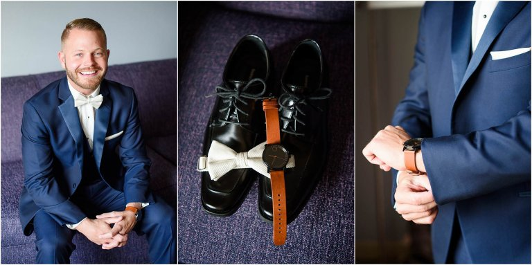 groom getting ready wilkes barre pa photographer
