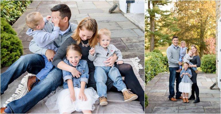 scranton photographer family portraits modern and bright by Crystal Satriano